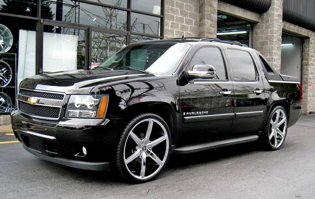 custom chevy avalanche 2017 2018 best cars reviews. Black Bedroom Furniture Sets. Home Design Ideas