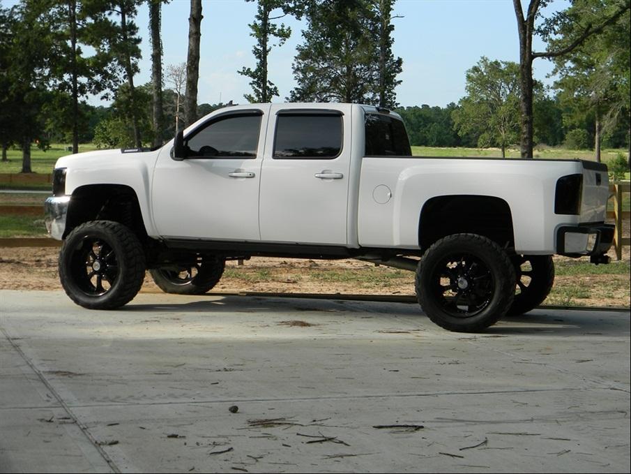 Lifted Silverado 2500