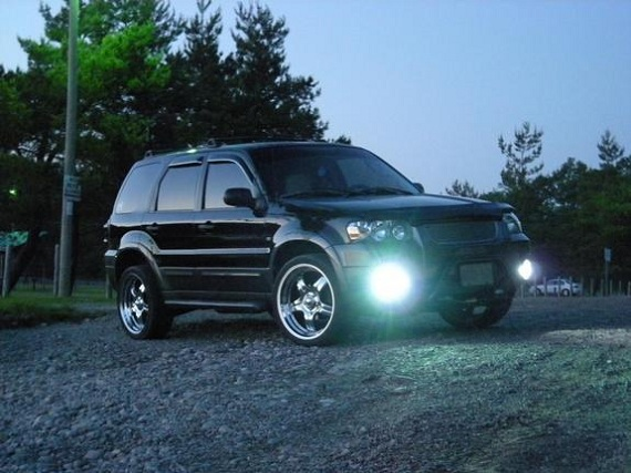 Lifted Ford Escape >> ESCAPE - Ford Escape custom - SUV Tuning