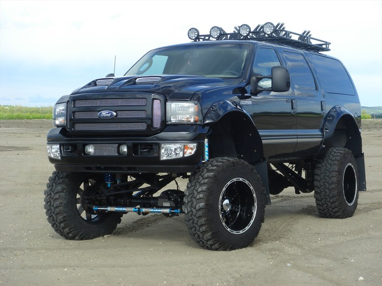 Custom ford excursions