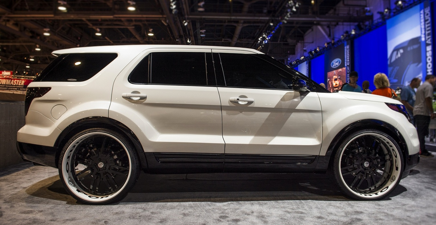 Explorer Ford Explorer Custom Suv Tuning