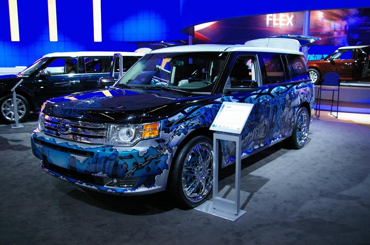 custom ford flex paint - photo #47