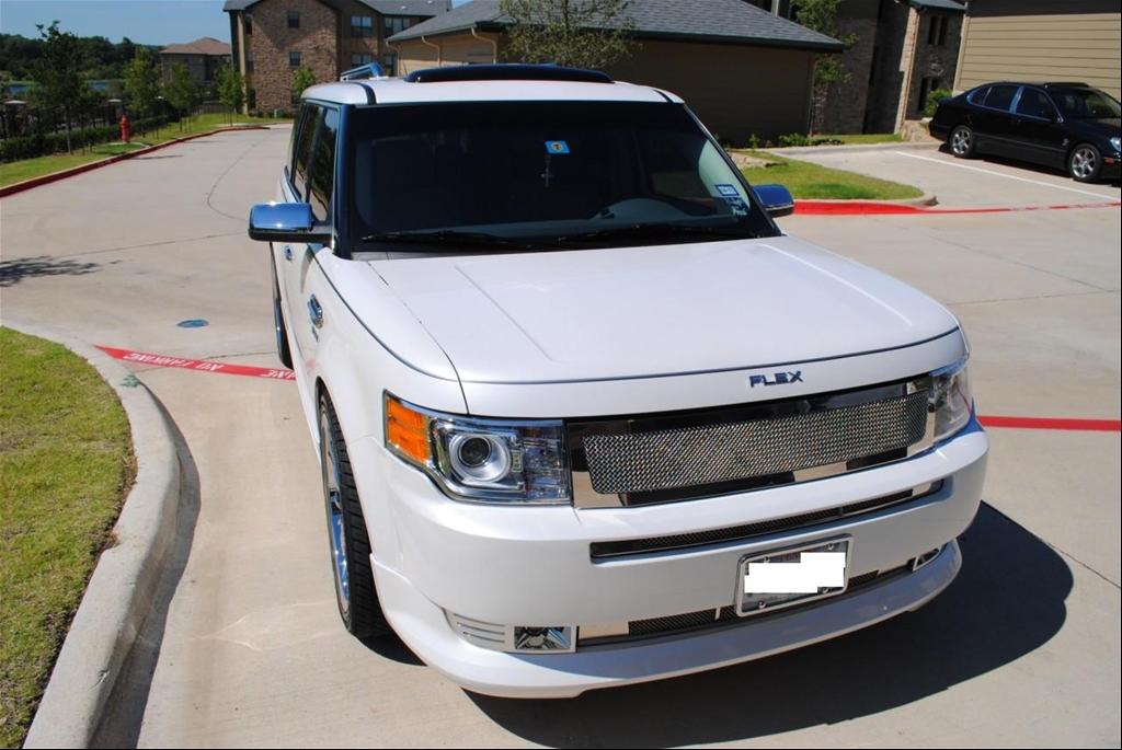custom ford flex paint - photo #48