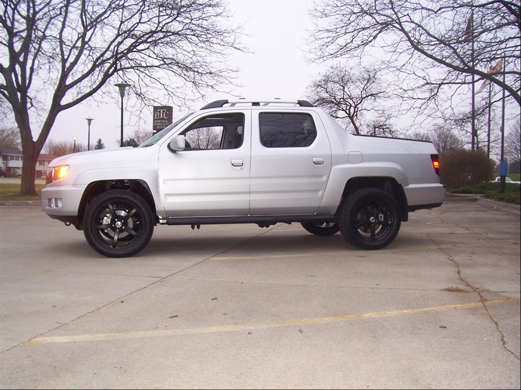 The gallery for --> Honda Ridgeline Lifted