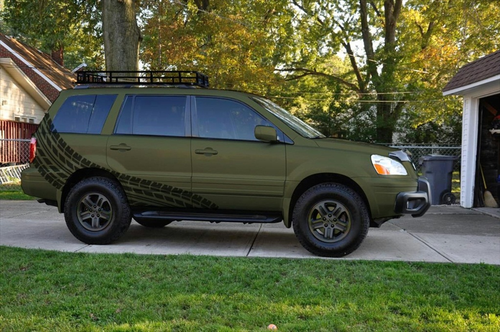 The gallery for --> Honda Pilot Lifted