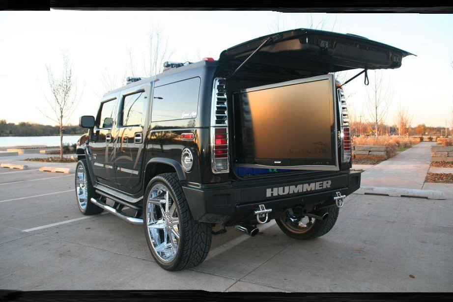 hummer h tuning tuned car pictures. Black Bedroom Furniture Sets. Home Design Ideas