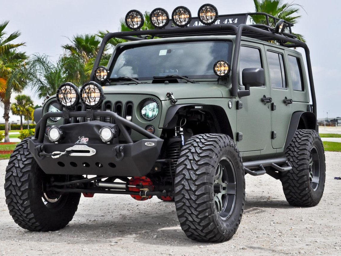 Army Vehicles For Sale >> WRANGLER - Jeep Wrangler custom - SUV Tuning