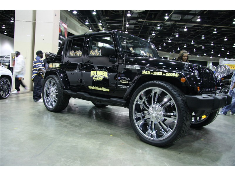 Pimped Out Jeep Wranglers