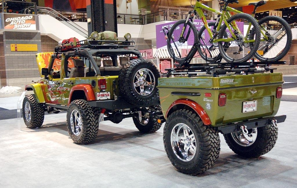 Customized White Jeep Wrangler : 2017 - 2018 Best Cars Reviews