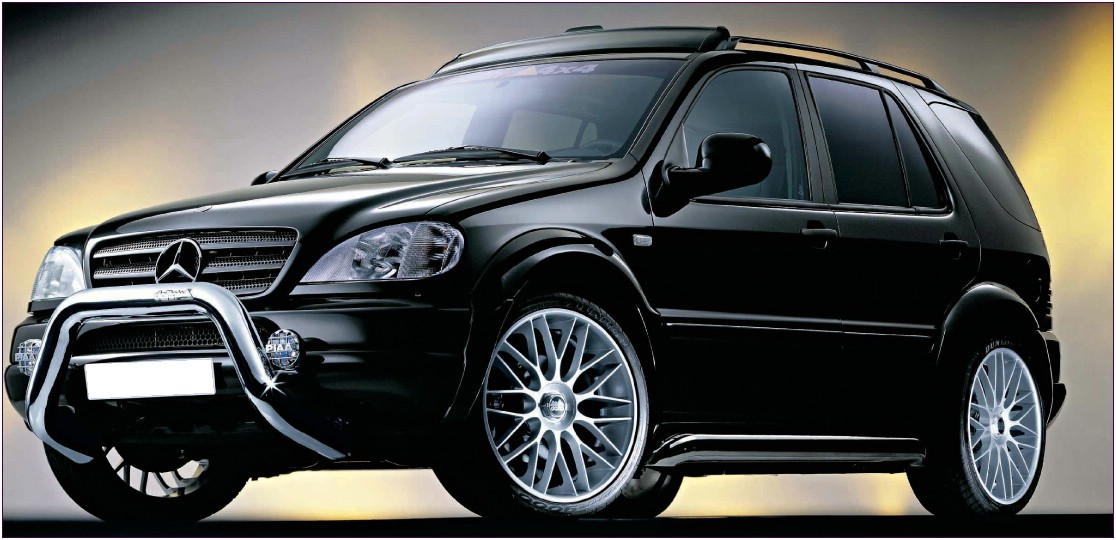 ml - mercedes ml tuning - suv tuning