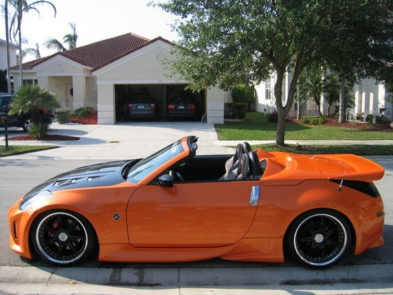 Nissan 350z convertible hardtop