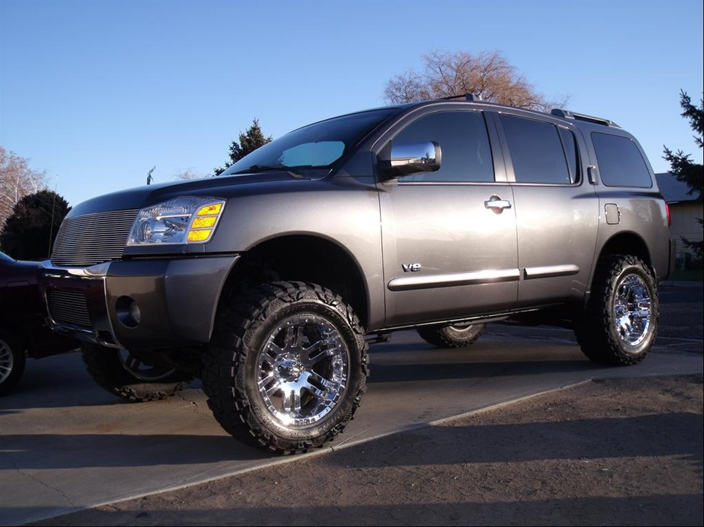 2007 Nissan Armada Lifted