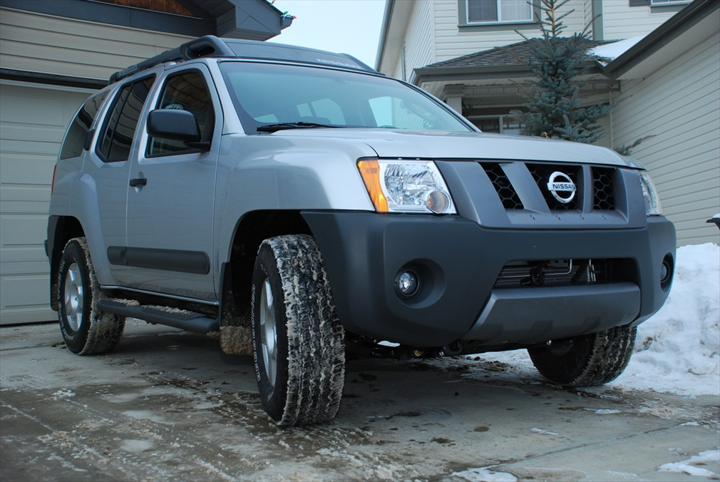 how to change rotors on a 2001 nissan xterra
