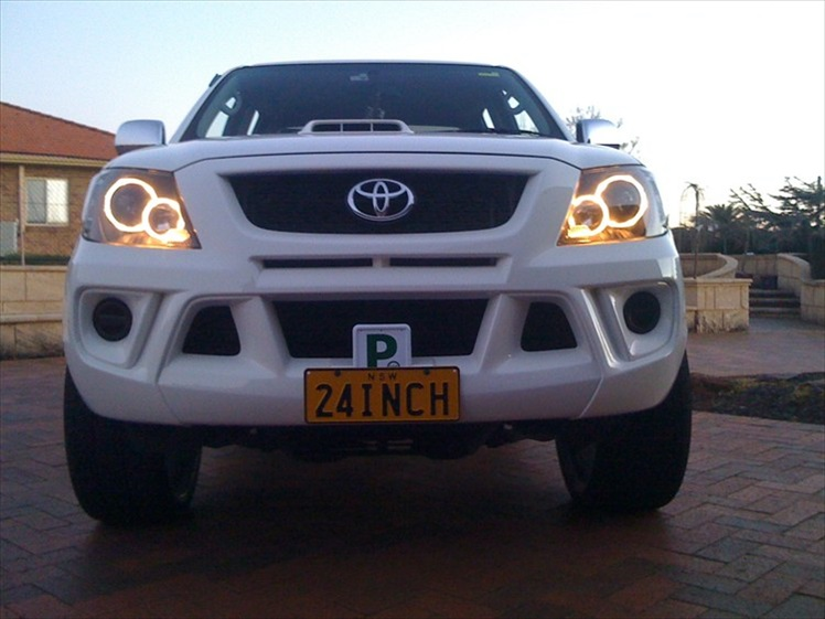 Toyota hilux tuning