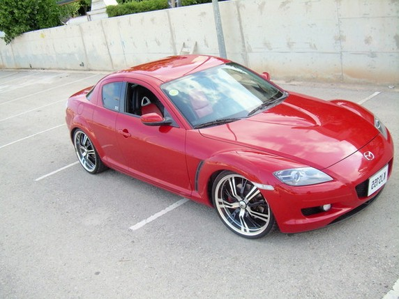 mazda rx8 modified red. tuning mazda rx8 rx8 modified red