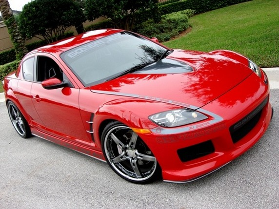 mazda rx8 modified red. tuning mazda rx8 rx8 modified red m