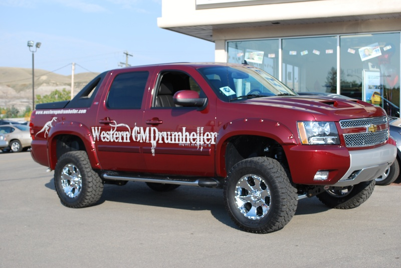 2008 Chevy Avalanche Lifted