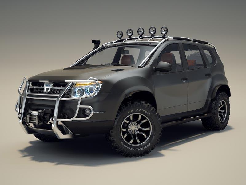 Dacia Duster Tuning - Fotos de coches - Zcoches
