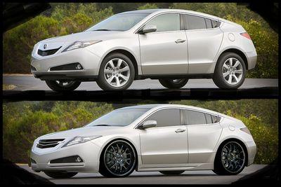 Acura  on Zdx   Acura Zdx Tuning   Suv Tuning